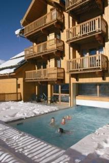 Oferta Viaje Hotel Escapada Résidence Hameau & Chalés de la Vallée d'Or + Forfait  Valloire-Valmeinier