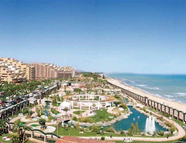 Oferta Viaje Hotel Escapada 1 Línea Pisos Marina Dor + Ocio Todo Incluido: Balneario + Parques tematicos