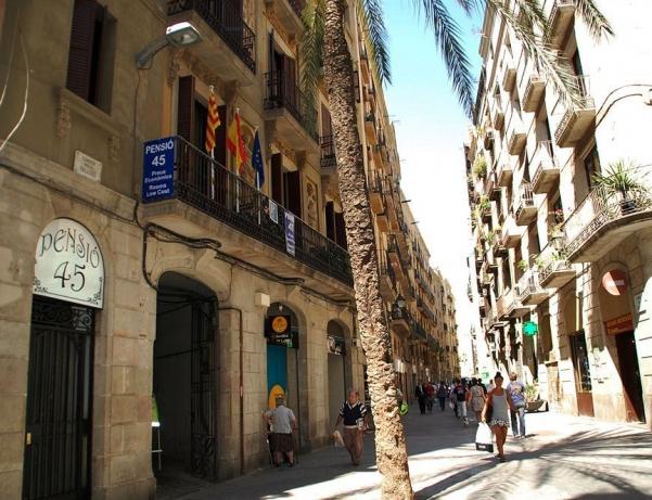 Oferta Viaje Hotel Hotel Pensión 45 en Barcelona