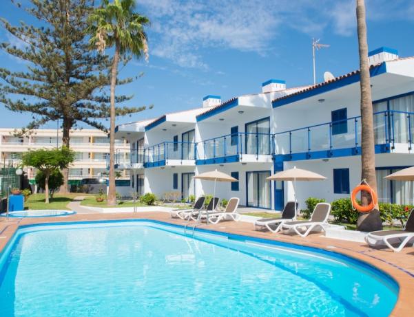 Oferta Viaje Hotel Hotel Apartamentos Los Caribes en San Fernando de Maspalomas