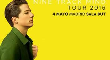Oferta Viaje Hotel Charlie Puth - Nine Track Mind Tour 2016