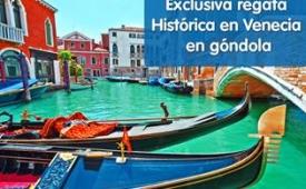Oferta Viaje Hotel Exclusiva regata Historica en Venecia en gondola