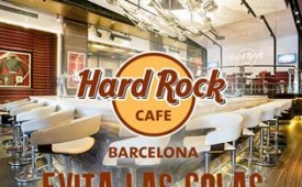 Oferta Viaje Hotel Evita las colas - Hard Rock Cafe Barcelona