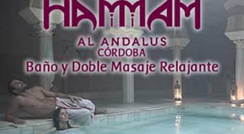 Oferta Viaje Hotel Hammam Al Ándalus Córdoba - Baño y Doble Masaje Relajante