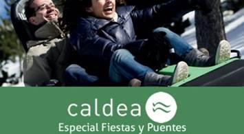 Oferta Viaje Hotel Caldea - Especial Fiestas y Puentes: Entrada + Naturlandia + Hotel