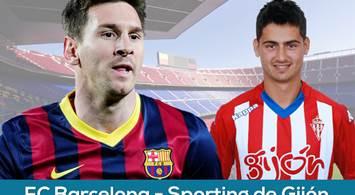 Oferta Viaje Hotel FC Barcelona - Real Sporting de Gijón