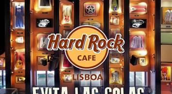 Oferta Viaje Hotel Evita las Colas - Hard Rock Cafe Lisboa