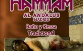 Oferta Viaje Hotel Hammam Al Ándalus Madrid - Baño y Kessa Tradicional