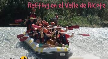 Oferta Viaje Hotel Murcia - Rafting en el Valle de Ricote