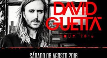 Oferta Viaje Hotel David Guetta - Tour 2016