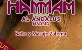 Oferta Viaje Hotel Hammam Al Ándalus Madrid - Baño y Masaje Zalema