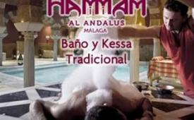 Oferta Viaje Hotel Hammam Al Ándalus Málaga - Baño y Kessa Tradicional