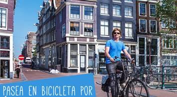 Oferta Viaje Hotel Pasea en bicicleta por Amsterdam